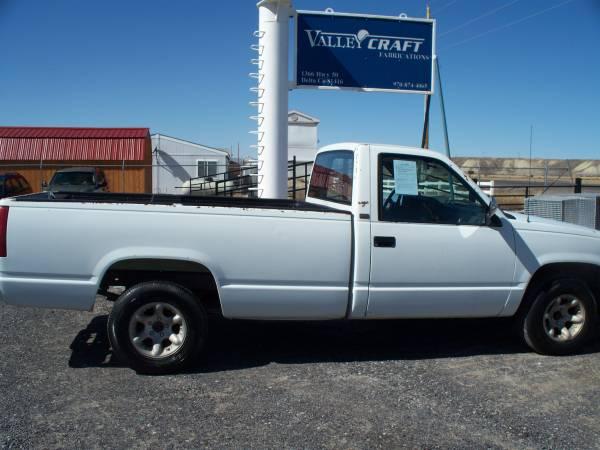 Photo 1990 Chevy Truck 2 WD - $1095 (Delta)