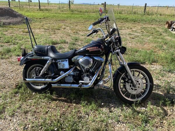 Photo 1996 Harley Dyna Glide Convertible - $4,500 (Durango)