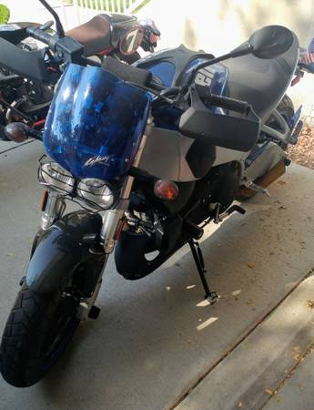 Photo 2007 Buell XB9SX City X City Cross Blue - $4,400 (Grand Junction)