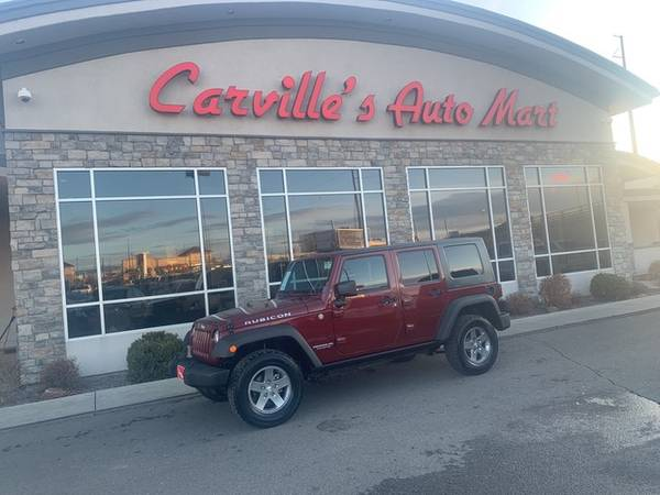 Photo 2010 Jeep Wrangler Unlimited - Call 855-975-4558 - $19394 (2010 Jeep Wrangler Unlimited Carvilles Automart)