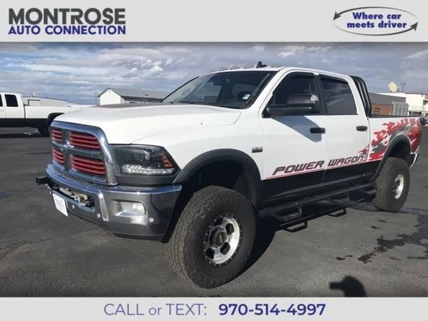 Photo 2016 Ram 2500 Power Wagon - $39,500 (_Ram_ _2500_ _Truck_)