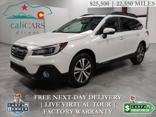 Photo 2019 Subaru OUTBACK 2.5I LIMITED  22,550 Miles - $25,500 (FREE DELIVERY)