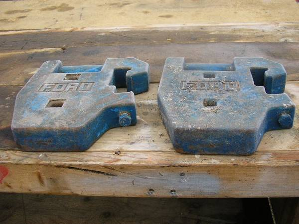Photo 2 Ford Tractor Package Weights - $50 (Delta, CO)