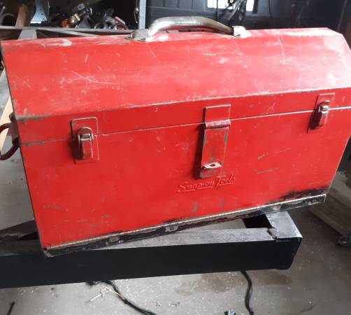 Photo 2 Snap-on hand carry tool boxes with 2 lower drawers and top tray - $125 (Grand Junction)