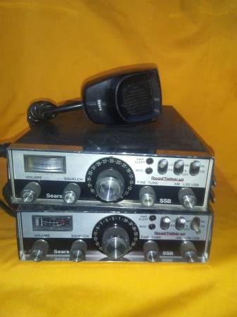 Photo 40 channel CB radios - $50 (Eckert)
