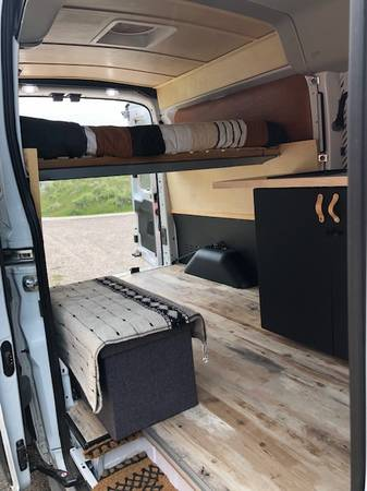 Photo AWD, LOW-MILEAGE, ECOBOOST 2020 FORD TRANSIT CAMPER VAN - RARE FIND - $69,500 (RIDGWAY)