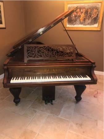 Photo Antique chickering baby grand (Rosewood) (Grand junction)