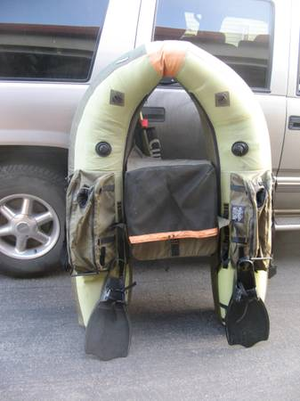 Photo Cumberland Float Tube with Fins Included - New Unused Belly Boat - $150 (Rifle)