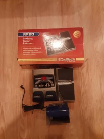 Photo DigiTech RP-80 Multi Effects Unit - $65 (Montrose)