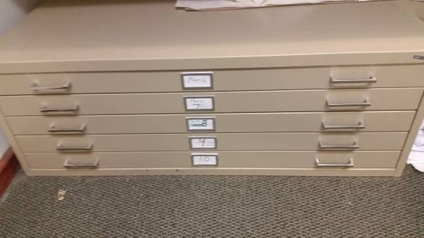 Photo Flat files Roll file holders Stand up computer stand - $50 (Carbondale)