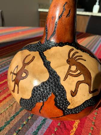 Photo Gourd Art - $50 (Montrose)