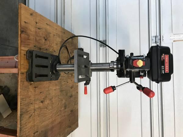 Photo Hitachi mitersaw, Craftsman Drill Press - $150 (Cortez)