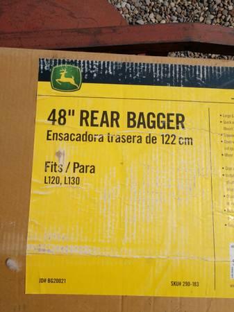 Photo John Deer Rear Bagger 48 - $250 (Grand Junction)