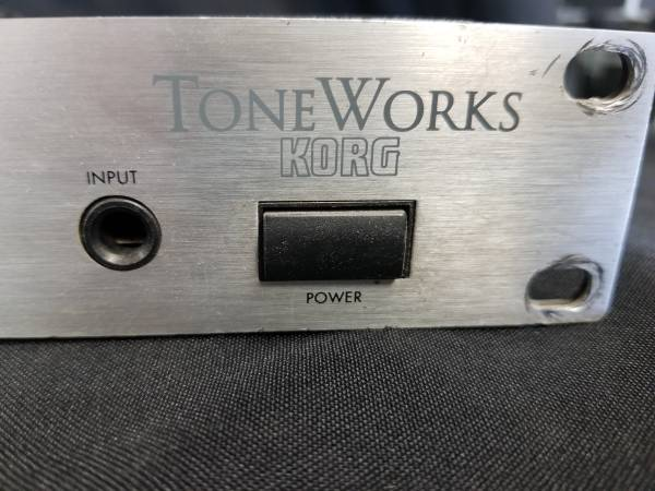 Photo Korg toneworks DTR 2 rack mount tuner guitar bass - $35 (Palisade)