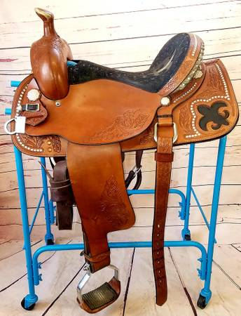 Photo Limited Edition Circle Y All Around Saddle - $1,250 (Delta)
