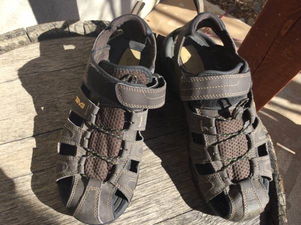Photo Mens Teva Forebay Sandals Size 8 - $25 (Montrose GJ)