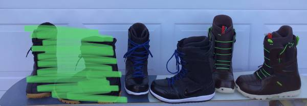 Photo Mens size 13 and 14 snowboard boots - $175 (Grand Junction)