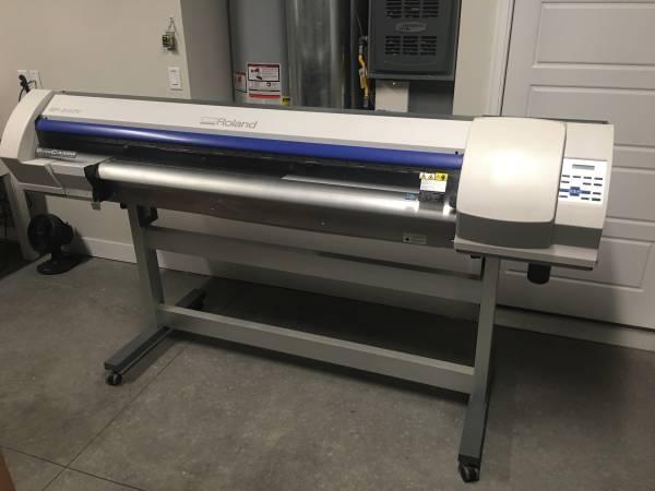 Photo Roland SP-540V vinyl printer cutter - $4800 (Grand junction)