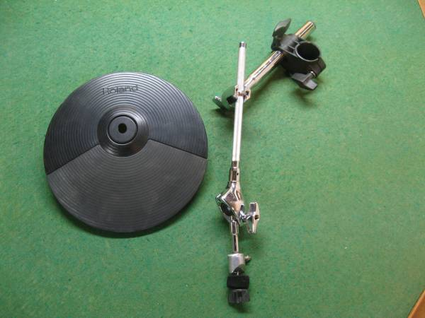 Photo Roland V-Drum Components Cymbals, Toms, Cable, Bass Drum - $80 (Rifle)