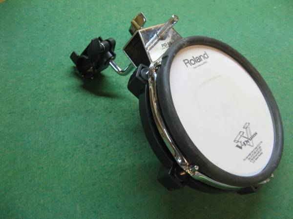 Photo Roland V-Drum Components Cymbals, Toms, Cable, Bass Drum - $60 (Rifle)