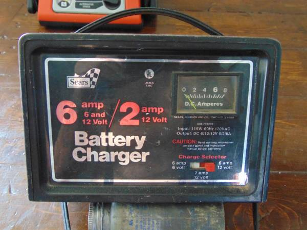 Photo Sears 6  Battery Charger - $40 (Delta)