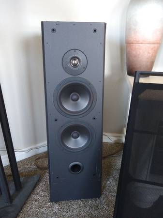 Photo Speakers - Polk, Morel, DCM, Infinity, Sony, Onkyo, JVC  More - $1 (Montrose)