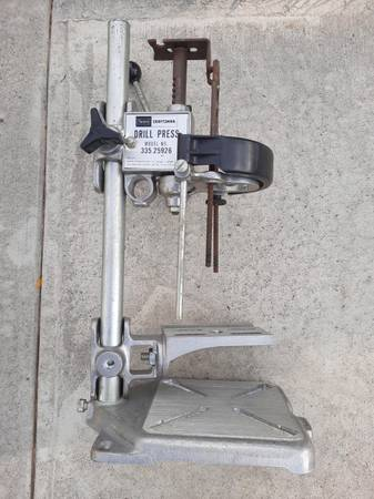 Photo Vintage Craftsman portable drill press - $60 (Montrose)