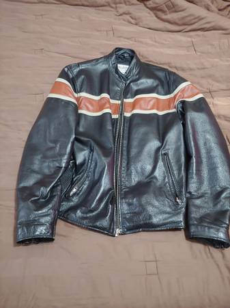 Photo Wilsons Leather vintage M. Julian Harley Davidson motorcycle jacket M - $60 (denver)