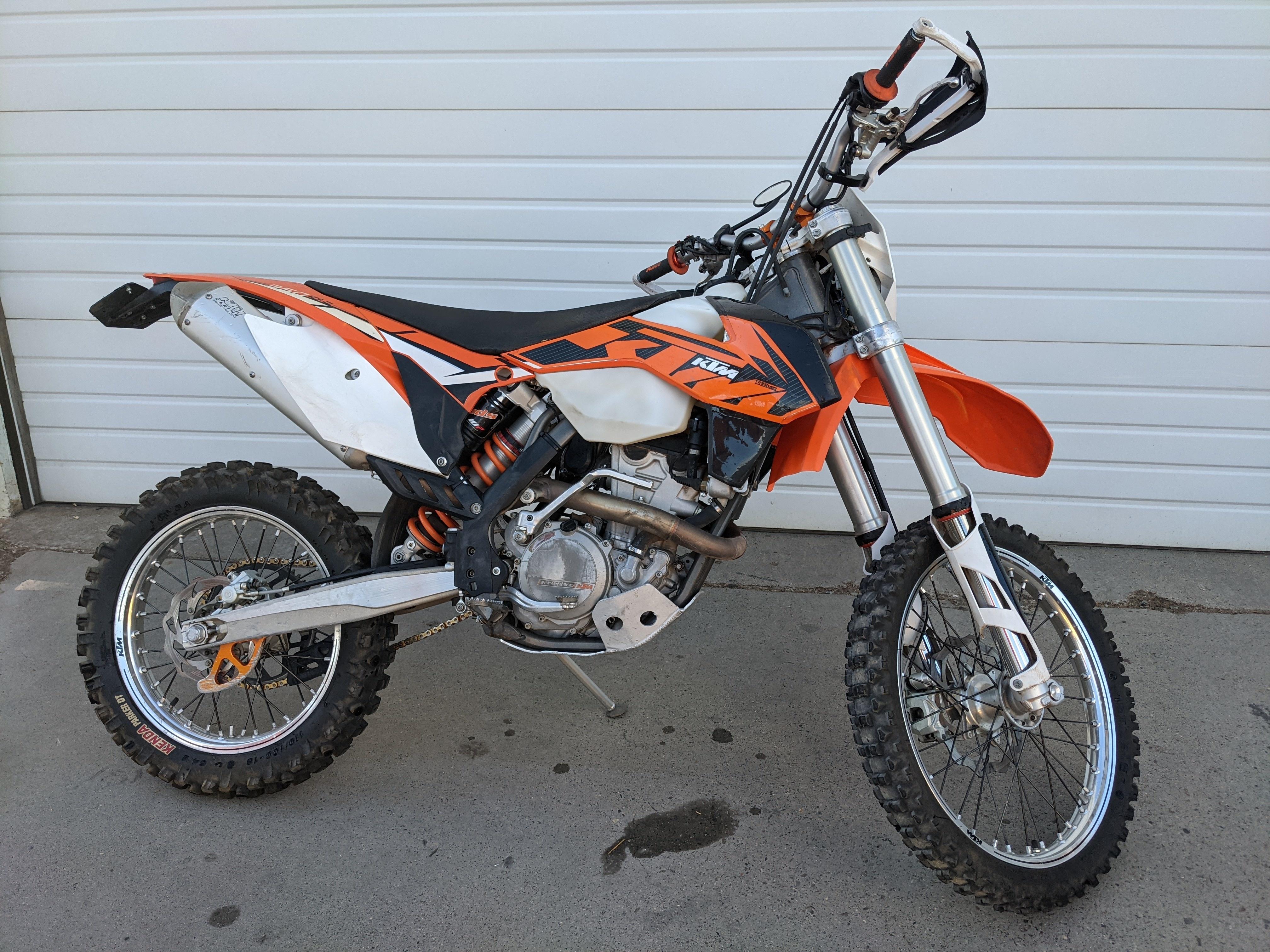Photo Used 2014 KTM Dirt Bike Motorcycle  $6799