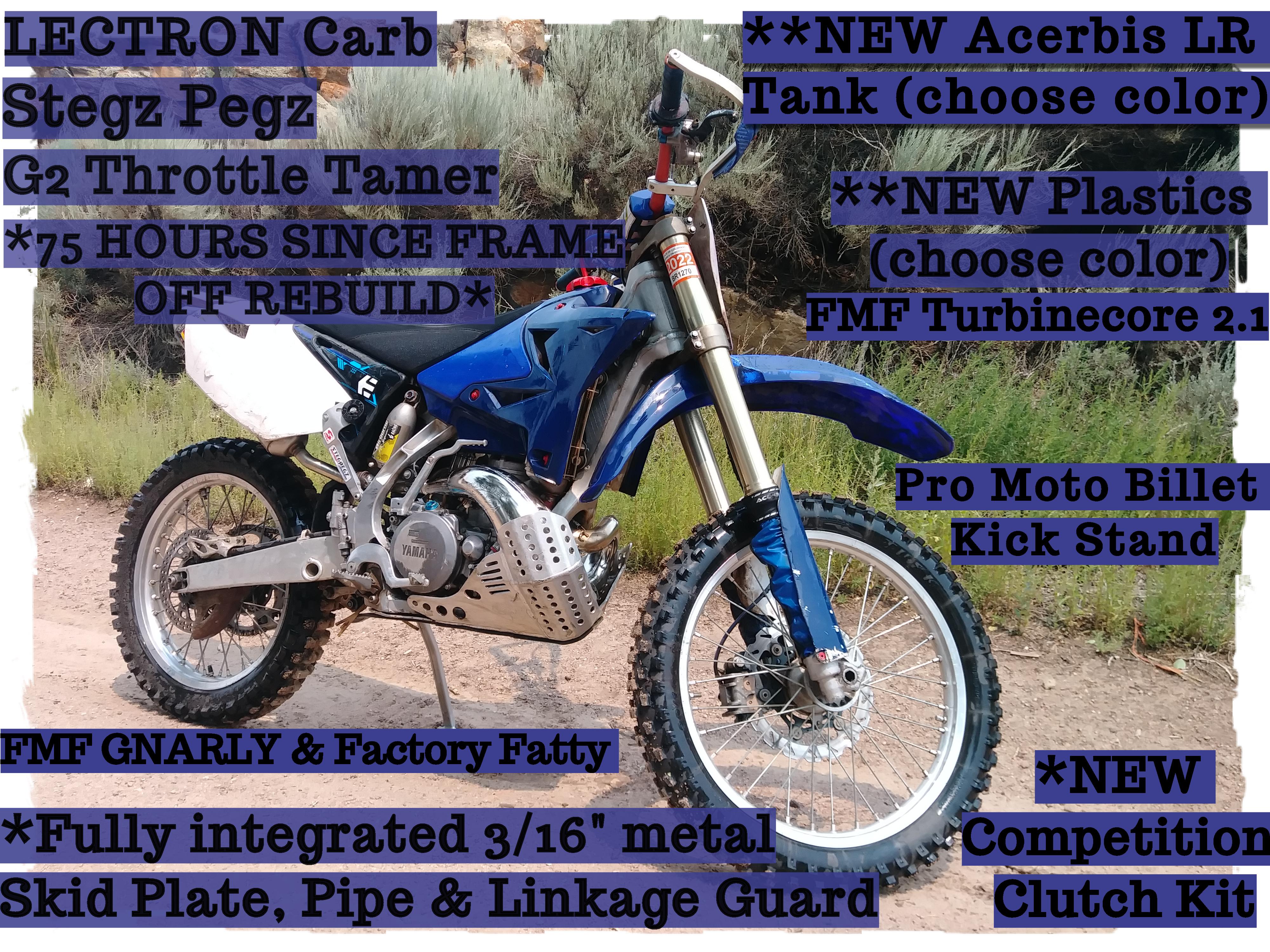 Photo Used 2006 Yamaha Dirt Bike Motorcycle  $7000