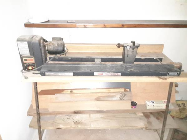 Photo 12 in Craftsman Wood Lathe works great - $100 (Woodsfield)