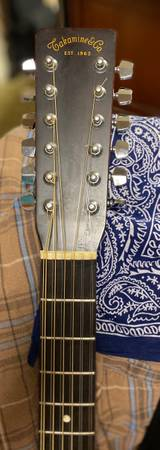 Photo 1981 Takamine F-389 12 string acoustic - $550 (Steubenville)