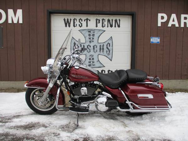 Photo 2000 HARLEY DAVIDSON ROAD KING - FINANCING AVAILABLE - $5,995 (WEST PENN CHOPPERS)
