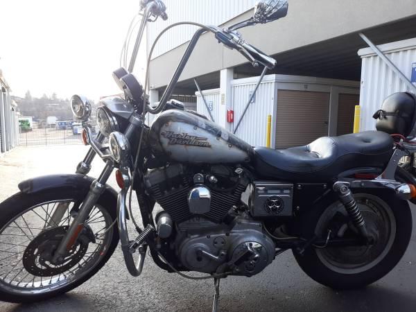 Photo 2000 , 1200cc harley Davidson sportster. Lot of after market add ins. - $4,500 (Washington county.)