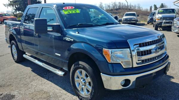 Photo 2013 FORD F-150 XLT CREW CAB 4X4 - $17885 (ST CLAIRSVILLE, OH)