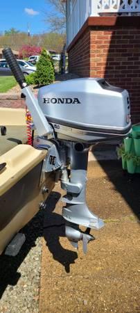 Photo 2016 Honda 5 HP Outboard Boat Motor. Like new - $950 (NORTH HUNTINGDON)