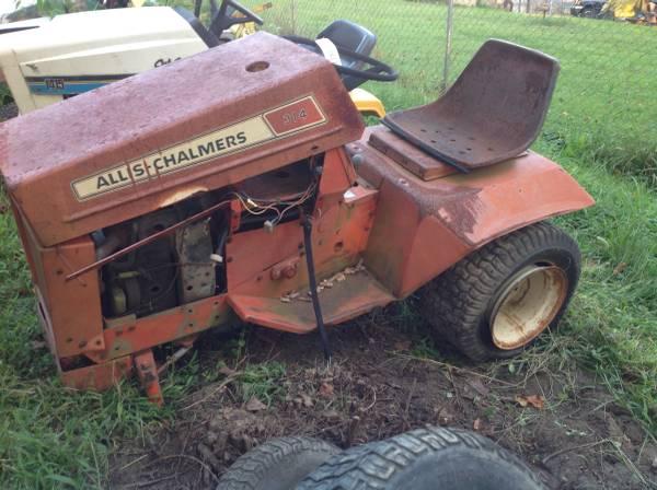 Allis Chalmers 314 Deluxe Garden Tractor Parts 1 Garden Items For Sale Wheeling Oh Shoppok