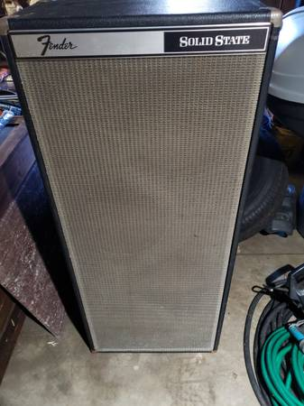 Photo Fender 4x12 PA Column  Cabinet - $275