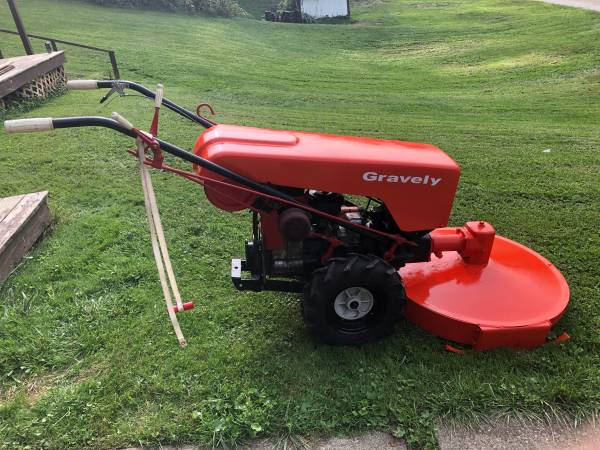 Photo Gravely Walk Behind - $800 (McMechen)