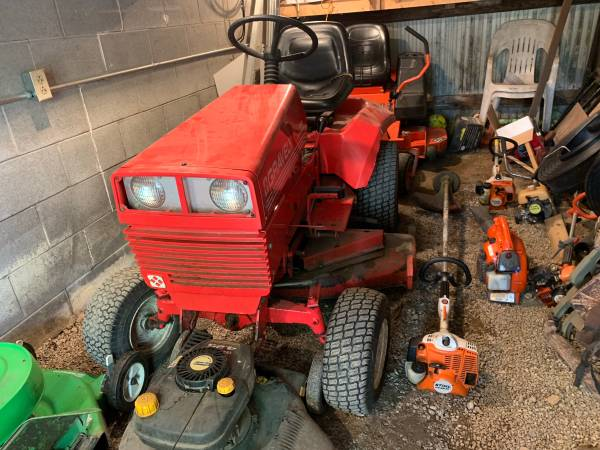 Photo Gravely tractor with snowblower and deck - $1,000 (Dillonvale)