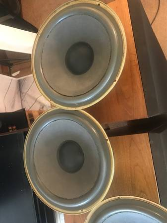 Photo Realistic Optimus T-200 Original 16 OHM Woofer Refoamed Very Rare - $100 (Sistersville)