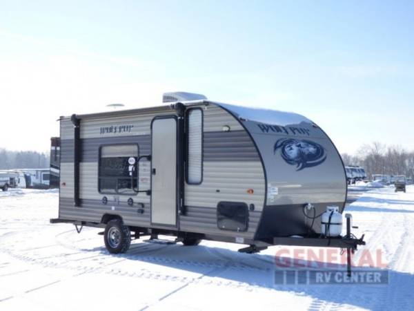 Photo Travel Trailer 2017 Forest River RV Cherokee Wolf Pup 16FQ - $13,999