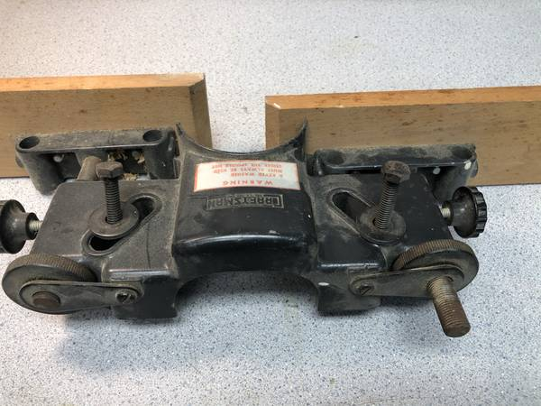 Photo Vintage Craftsman, King Seeley, Shaper Router Fence - $40 (Gibsonia)