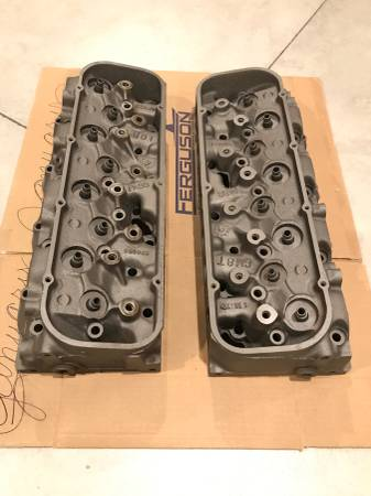 Photo 049 Chevy Big Block 454 Cylinder Heads - $450 (Rose Hill)