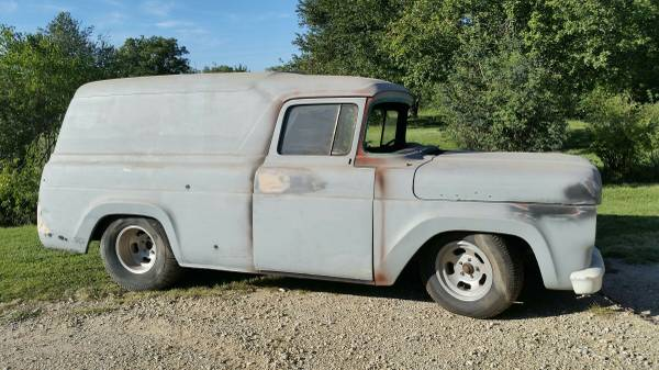 Photo 1959 ford panel truck - $3,500 (Valley-center)