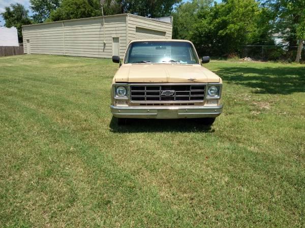 Photo 1978 Chevy 12 ton Custom Deluxe - $1,200 (Wichita)