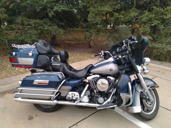 Photo 1998 Harley Davidson Electra Glide Ultra Classic - $5,200 (Newton)
