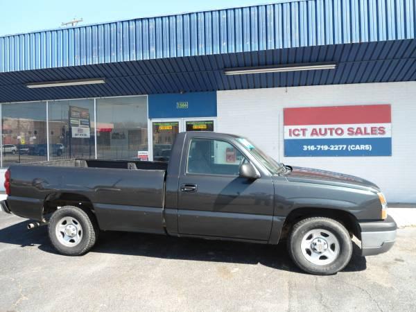 Photo 2004 Chevy Silverado 1500 ICT AUTO SALES LLC. - $5,299 (Wichita)