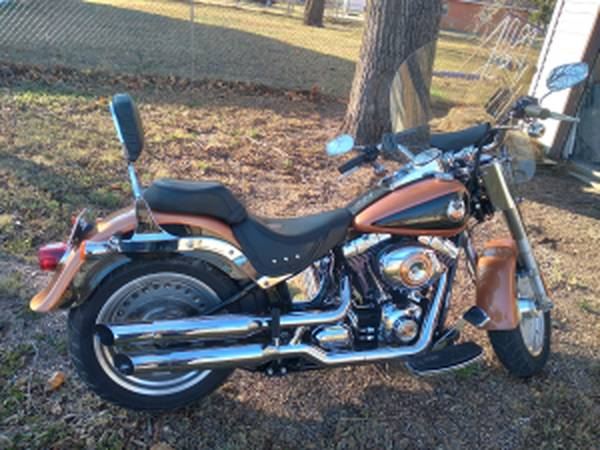 Photo 2008 Harley Davidson Fat Boy - $8,500 (wichita)