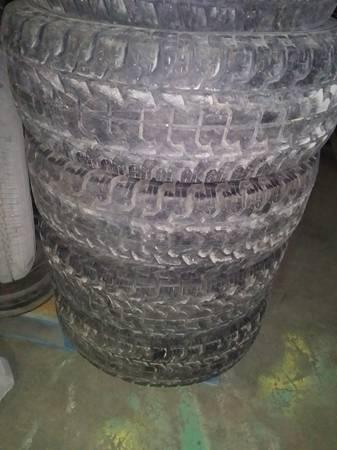 4 31x10.50x15 All Terrain Tires - $150 (Wichita.Ks.)